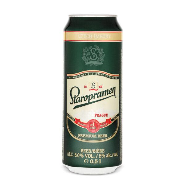 Bia Staropramen Premium 5% (500ml)