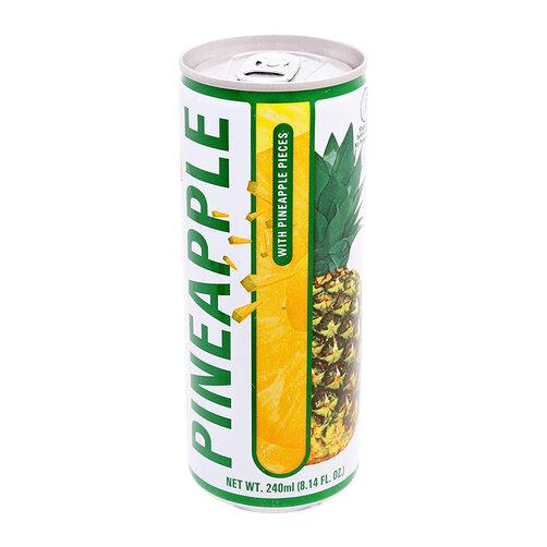 Nước Dứa Ép Nhân Dứa 240ml Dellos | Dellos Pineapple Juice 240ml