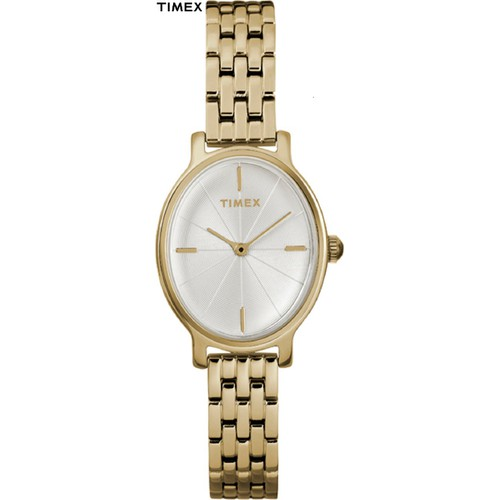 Đồng hồ Nữ Timex Dây Kim Loại màu Vàng