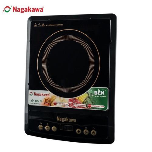 Bếp Từ Đơn Nagakawa NAG0706 - Thiết kế trang nhã - Công suất 1800W - Mặt kính chịu lực cao cấp - Kèm Nồi Lẩu - Bảo hành 12 tháng - Hàng Chính Hãng