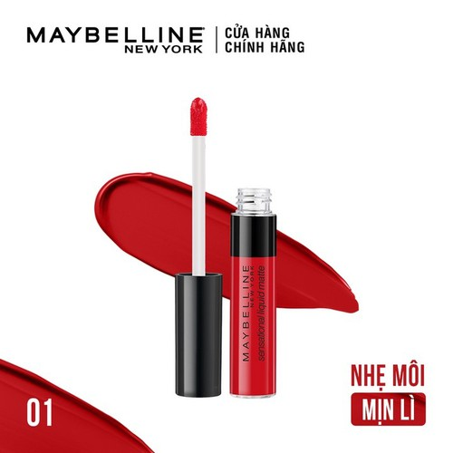 Son Kem Lì Maybelline New York Sensational Liquid Matte 7g - 6902395722984