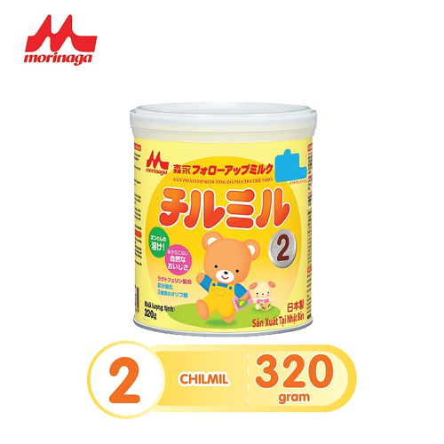 Sữa Morinaga số 2 Chilmil hàng chính hãng