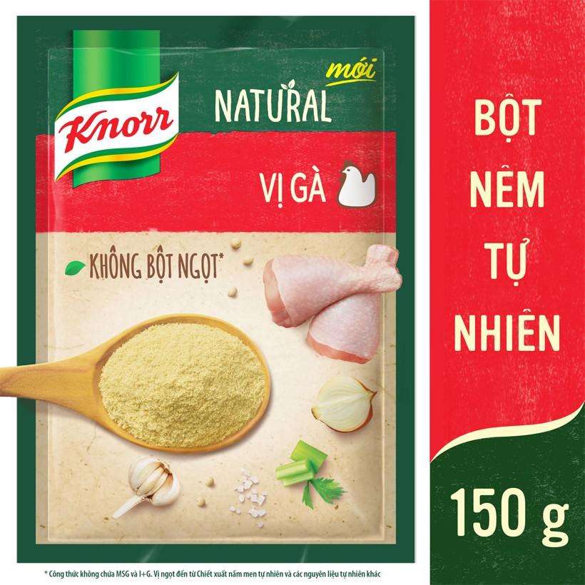 Bột Nêm Tự Nhiên Knorr Natural - Vị Gà 150g